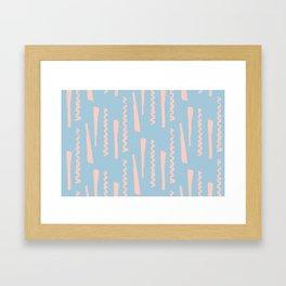Confetti Style Pattern Framed Art Print