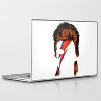 david fleck Laptop & iPad Skins featuring David by BomDesignz