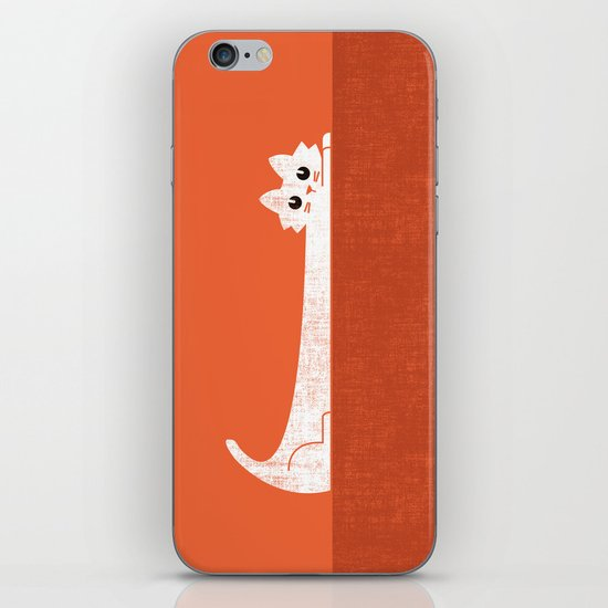 Mark's Superpower: cat Superstretch iPhone & iPod Skin