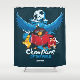 Not So Flappy now  Shower Curtain