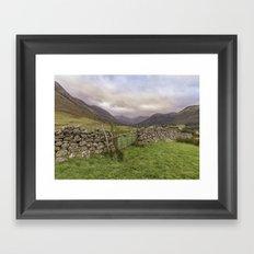Ben Nevis Mountain Range Framed Art Print
