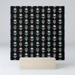 Heavy Metal Pattern   Music Fesitval Rocker Mini Art Print