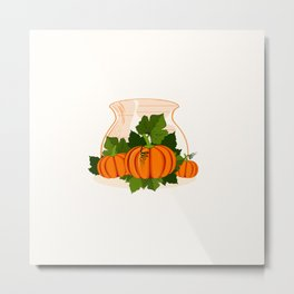 C13D Its Pumpkin Time Metal Print
