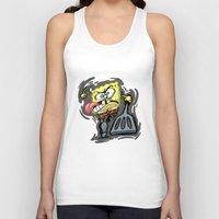 spongebob Tank Tops featuring SPONGEBOB by September 9