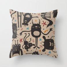 Topsy Turvy - Light Throw Pillow