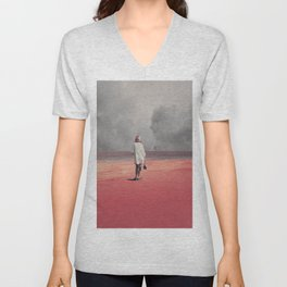 Watching you Leave me. Didn't want to Unisex V-Neck