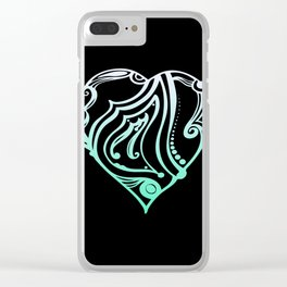 Birth Hearts No.1 - M is for.... Clear iPhone Case