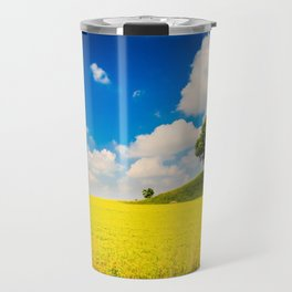 Spring in the fields of Italy Travel Mug