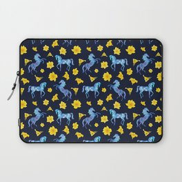 Precious blue horses Laptop Sleeve