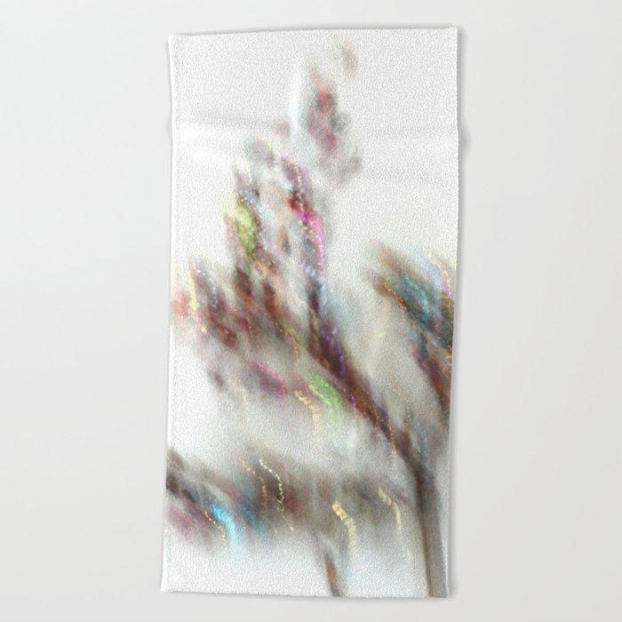 Glittering Tree - JUSTART Beach Towel