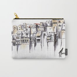 Naxos Houses Carry-All Pouch