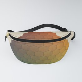 Lichtenberg-Mayer Colour Triangle vintage variation, Remake of Mayers original idea of 12 chambers Fanny Pack