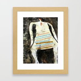 Time Is Tight Framed Art Print