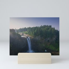 Salish Lodge and Spa Mini Art Print