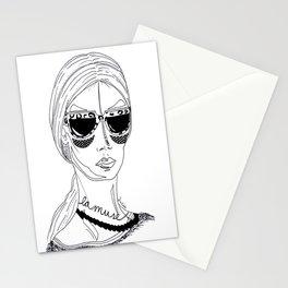 La muse Stationery Cards
