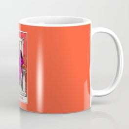 4. The Emperor- Neon Dreams Tarot Coffee Mug