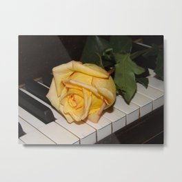 A Song From A Rose   Metal Print