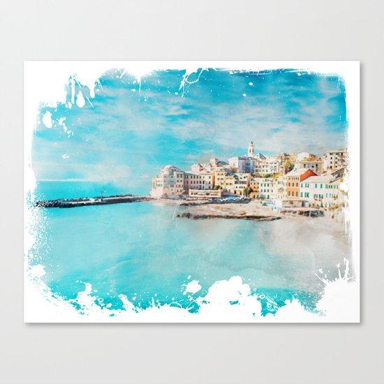 Sea coast Canvas Print