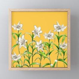 Lilies Framed Mini Art Print