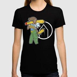 Pencil Warrioress T-shirt