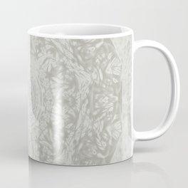 Ghostly alpaca and mandala Coffee Mug