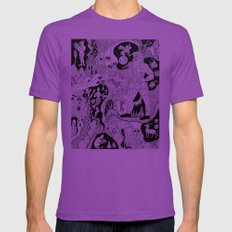 Wizard Dreams Ultraviolet Mens Fitted Tee LARGE