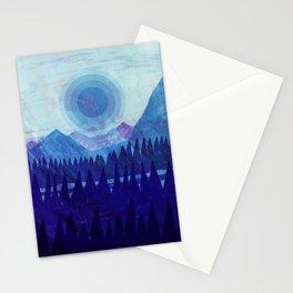 Purple Mountain Majesties Stationery Cards