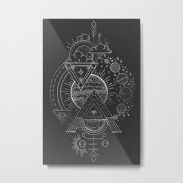 Esoteric Knowledge Metal Print