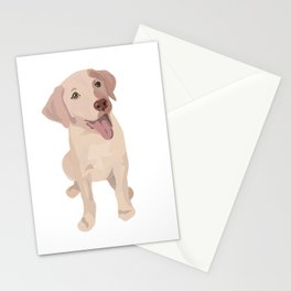 Golden (Lab) Girl Stationery Cards