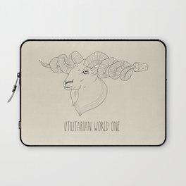 Utilitarian World #1 Laptop Sleeve