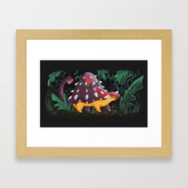 Ankylosaurus Framed Art Print