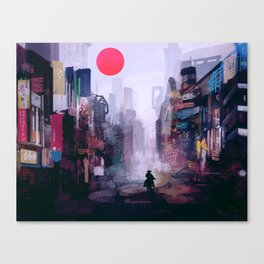 Strange Mornings Canvas Print