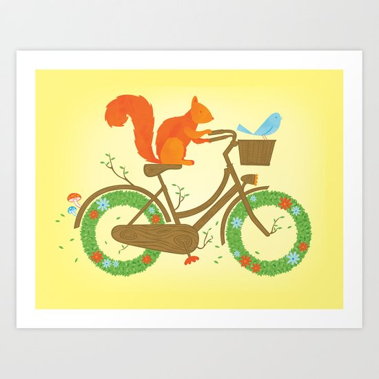 Natural Cycles Art Print