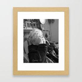 Agust D Framed Art Print