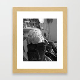 Agust D Framed Art Print