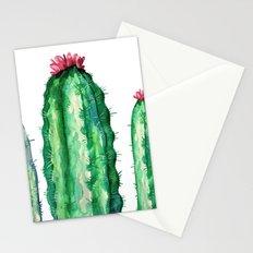 tree cactus Stationery Cards