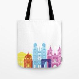 Dijon skyline pop Tote Bag