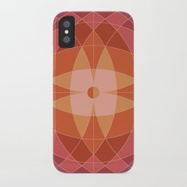 Midcentury Pattern 07 iPhone Case