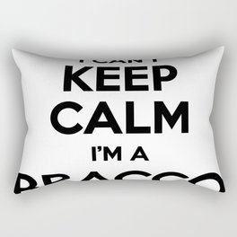 I cant keep calm I am a BRACCO Rectangular Pillow