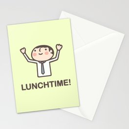 Lunchtime! Stationery Cards