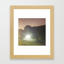 Bellwoods Fog Framed Art Print