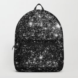 staRs Black & White Backpack