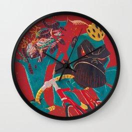 Gorilla sprint Wall Clock