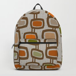 Dangling Rectangles Mid-Century Backpack