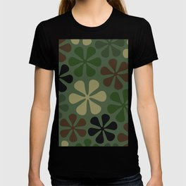 Abstract Flower Camouflage T-shirt