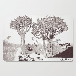 Quiver Tree Forest - Namibia Cutting Board