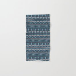 Chistmas Sweater in Blue Hand & Bath Towel