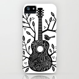 Sing Like a Sparrow iPhone Case