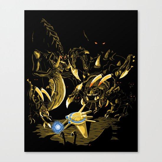 Zergs are FASTEST Canvas Print