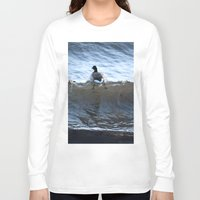ducks Long Sleeve T-shirts featuring Ducks by Alex Dodds